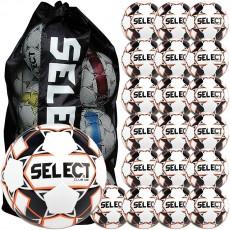 Select 20pk Club DB Soccer Balls Package w/ Bag