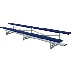 2 Row, 21' STANDARD Powder Coated Bleacher