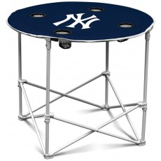 New York Yankees MLB Pop-Up/Folding Round Table