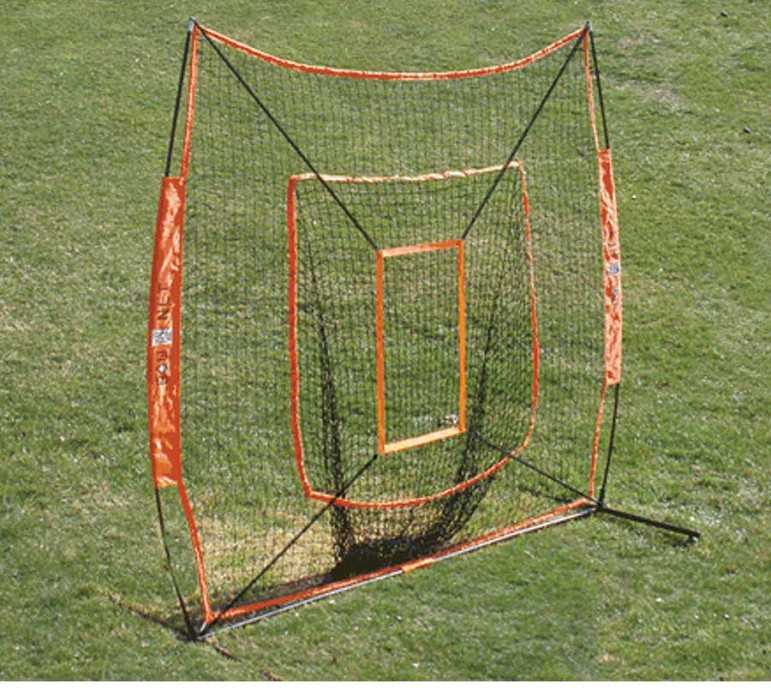 Strike zone on Bownet big mouth net