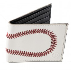 Genuine Leather Baseball Wallet