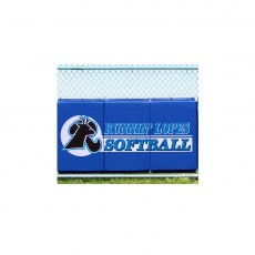 Cover Sports 3'H x 6'L Baseball/Softball Backstop Padding w/Graphics