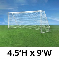 Jaypro CC9S Classic Club Soccer Goals, 4.5' x 9', pair