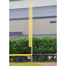 Jaypro 30'H Pro-Style Baseball Foul Poles, BBFP-30 (pair)