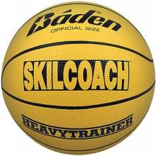 Baden BHT6R Skilcoach Heavy Trainer Rubber Basketball, WOMEN'S & YOUTH, 28.5""