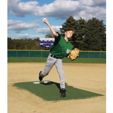 "Promounds MP3003G Major League Game Baseball Mound, 8'3""L x 5'W x 6""H, Green"