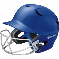 Easton Z5 Solid Batting Helmet w/ BB/SB Mask, SENIOR