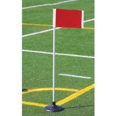 Kwik Goal set/4 Premier Soccer Corner Flags, 6B1404