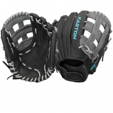 "Easton 12.25"" Core Pro Fastpitch Glove, COREFP 1225BKGY"