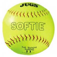 "Jugs B5110 Softie Leather Training Softballs, 11"""