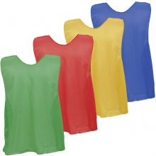 Champion Scrimmage Vests Pinnies, Open Bottom, ADULT