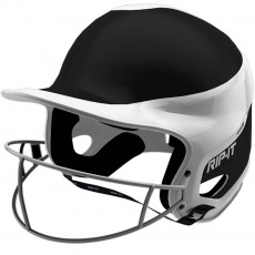 Rip-It Fastpitch Batting Helmet, AWAY Extra Small-Black