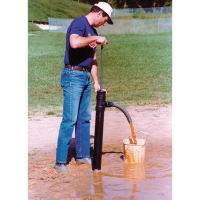 Baseball Field Diamond Pump
