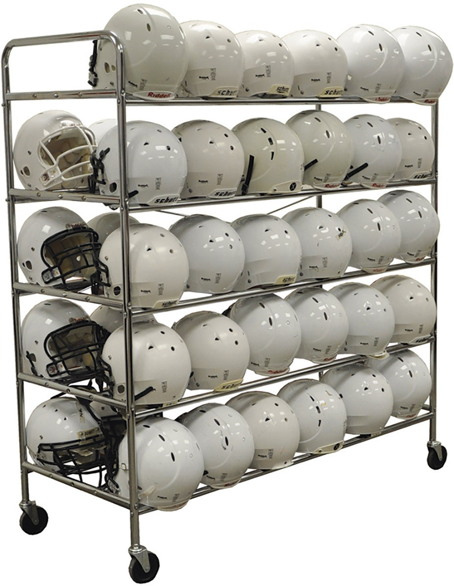 Jaypro 60 Helmet Football Storage Rack FHC-1  sc 1 st  Anthem Sports & Jaypro FHC-1 Football Helmet Storage Rack Holds 60 Helmets