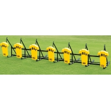 Fisher 7 Man JV Football Blocking Sled - MAN PAD, CL7M