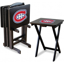 Montreal Canadiens NHL TV Snack Tray/Table Set