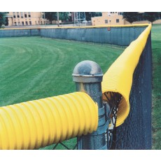 Poly-Cap Fence Top Protector, 100' Length