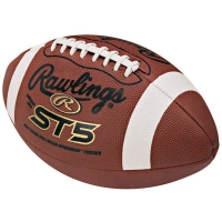 Rawlings ST5 Official Leather Game Football
