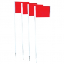 Champro Official Corner Flags, set of 4