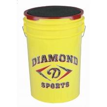 Diamond BKT Y Softball Bucket, Yellow
