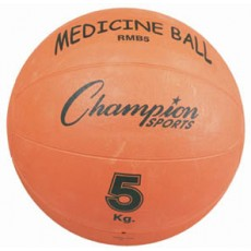 Champion RMB5 Rubber Medicine Ball, 5 Kilo / 11 lb.