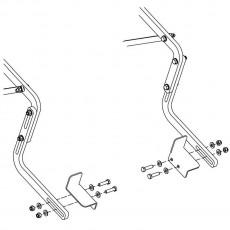 """Jaypro Little Champ Adaptor Kit for 48""""H Board (Fits One Backboard) LC-AKIT"""