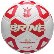 Brine SBCHMP4-05 Championship Soccer Ball, SIZE 5, Scarlet