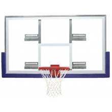 Bison BA42XLC Official Glass Conversion Basketball Backboard, 42'' x 72''
