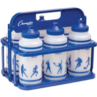 Champion Team Water Bottle & Carrier Set