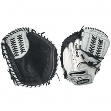 Wilson A2000 WTA20RF17CMSS SuperSkin Fastpitch Catcher's Mitt, 34""