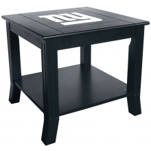 New York Giants NFL Hardwood Side/End Table