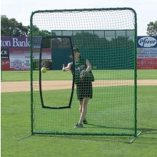 Jaypro 7' x 7' Collegiate Fastpitch Softball Protective Screen, SBPE-77
