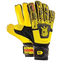 Brine SGKGM34 King Match 3X Soccer Goalkeeper Gloves, YELLOW