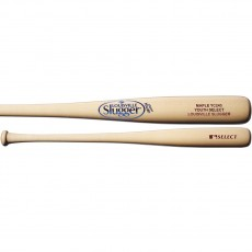 Louisville Y243 Youth Select Maple Wood Baseball Bat, Natural, WTLWYM243A17