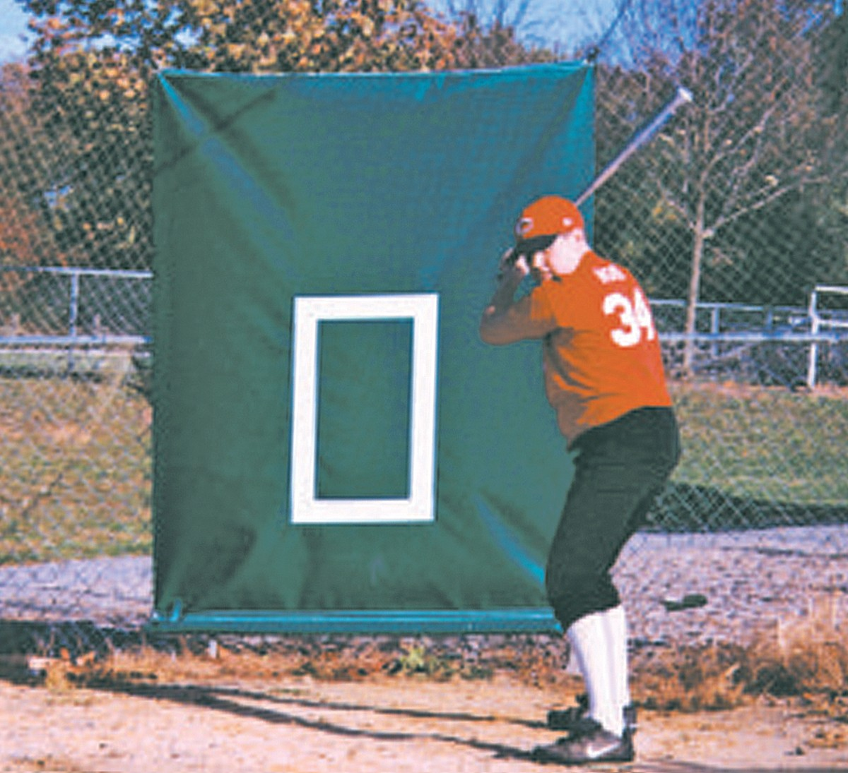 CageSaver Batting Cage Net Backdrop Protector, 22 oz