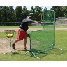 Jugs S1001 L-Shaped Pitcher's Protective Screen
