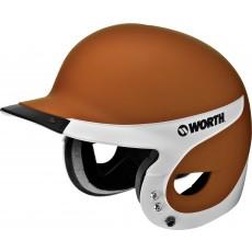 Worth WLBHA Liberty Batting Helmet w/ MATTE Finish, TX Orange
