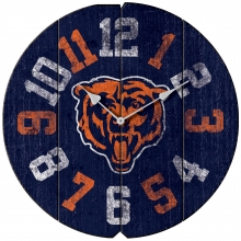 Chicago Bears Vintage Round Clock