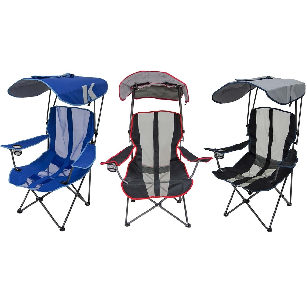 Kelsyus Folding Chair with Shade Canopy  sc 1 st  Anthem Sports & Kelsyus Folding Chair with Shade Canopy - Sports Parent Survival ...