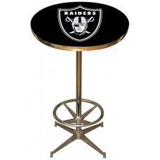 Oakland Raiders NFL Pub Table