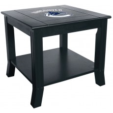 Vancouver Canucks NHL Hardwood Side/End Table