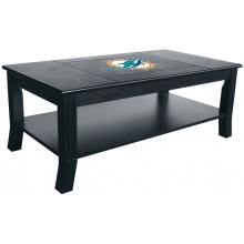 Miami Dolphins NFL Hardwood Coffee Table