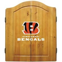 Cincinnati Bengals NFL Dartboard Cabinet Set