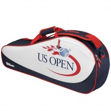 "Wilson US Open 3 Pack Tennis Bag, 30""Lx10""Hx6""W"