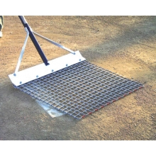 White Line 2' x 1.5' Steel Baseball Mound Mop