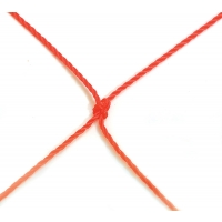 Jaypro SFG-14N Youth Soccer Nets, 2.5mm, ORANGE, 7' x 12' (pr)