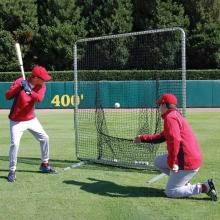 ProCage Baseball/Softball Batting Practice Frame & Sock Net, 7' x 7'