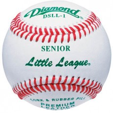 Diamond DSLL-1 Senior Little League Baseballs, dz