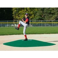 """True Pitch 600-G Portable Baseball Pitcher's Game Mound, 12'6""""L x 10'W x 10""""H"""