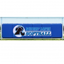 Cover Sports 3'H x 12'L Baseball/Softball Backstop Padding w/Graphics